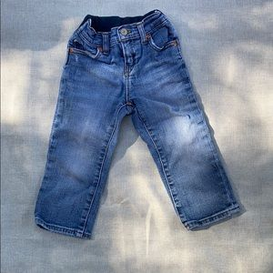 Toddler polo jeans
